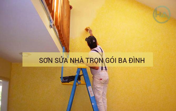 Dịch vụ Sơn sửa nhà tại Ba Đình
