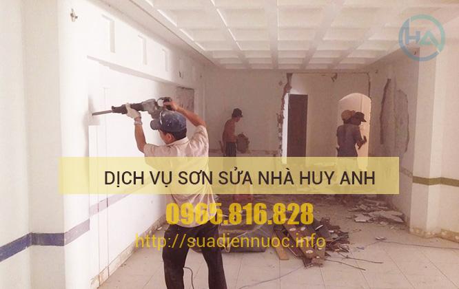 Dịch vụ Sơn sửa nhà tại Hà Đông