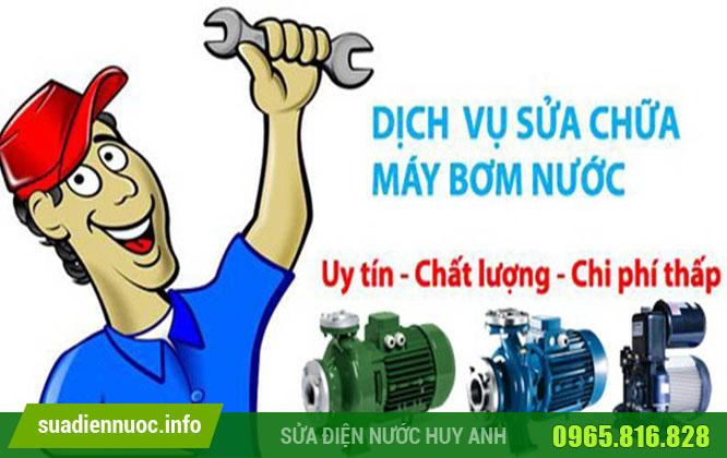 Dịch vụ sửa máy bơm nước tại Ba Đình