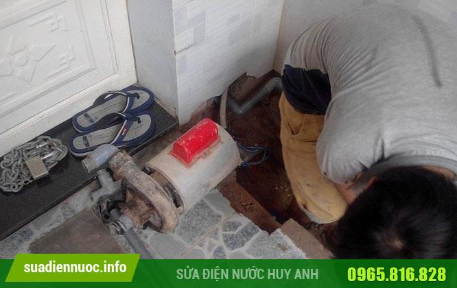 Quy trình làm việc của sửa máy bơm nước tại Ba Đình