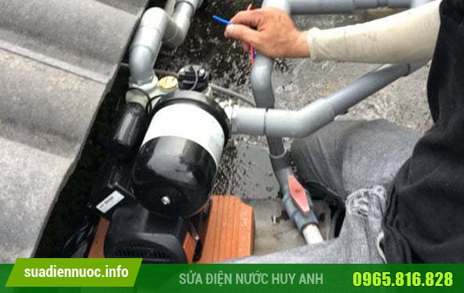 Nhận sửa máy bơm nước tại Hoàng Mai