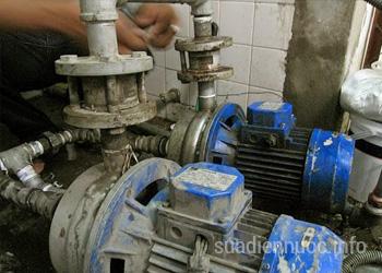 Sửa máy bơm tại Hà Đông
