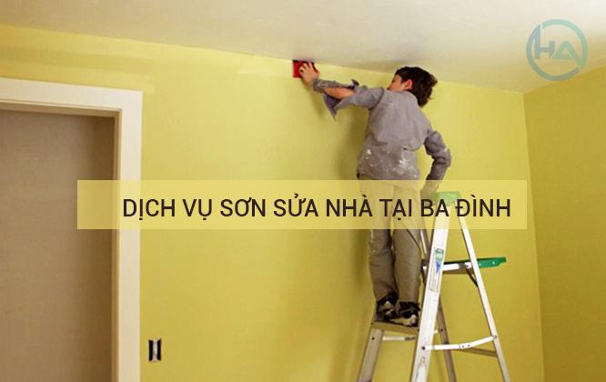 thợ sơn nhà Ba Đình