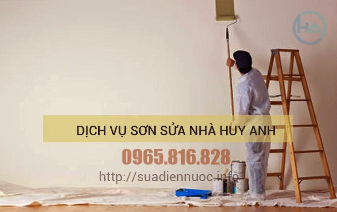 thợ sơn nhà Cầu Giấy