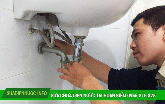 Sửa chữa điện nước tại Hàng Bạc