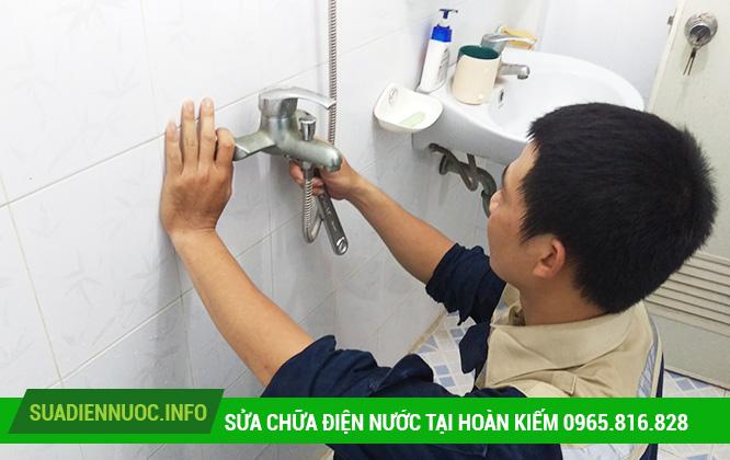 Sửa chữa điện nước tại Hàng Bài