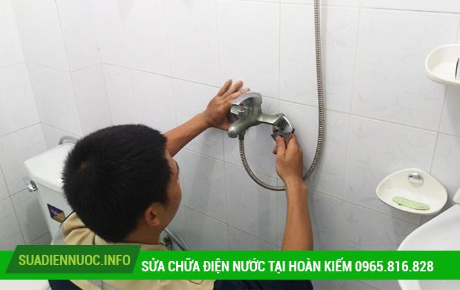 Sửa chữa điện nước tại Hàng Bồ
