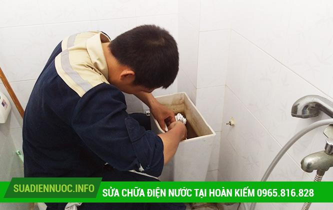 Sửa chữa điện nước tại Hàng Bông