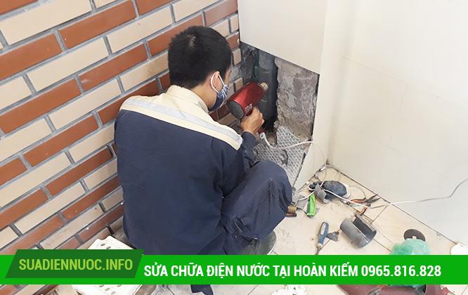 Sửa chữa điện nước tại Hàng Gai