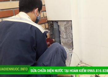 Sửa chữa điện nước tại Hàng Mã