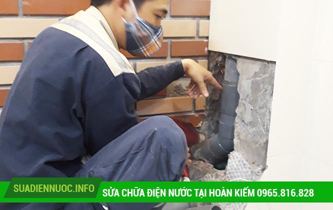 Sửa chữa điện nước tại Hàng Trống
