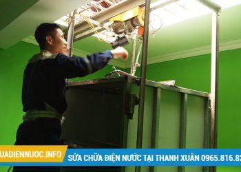 Sửa chữa điện nước tại Thượng Đình