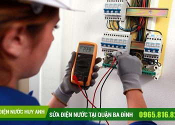 Thợ Sửa chữa điện nước tại Kim Mã