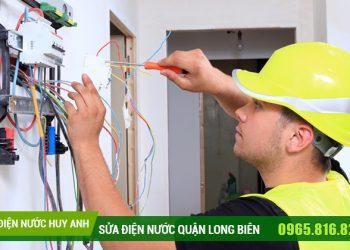 Sửa chữa điện nước tại Thượng Thanh