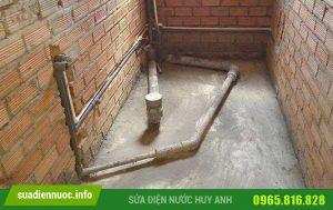 Hướng dẫn cách lắp đặt đường ống cấp nước âm tường