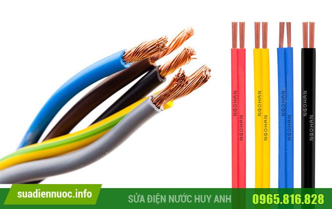 Quy định màu dây điện