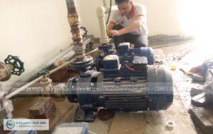 Nhận sửa máy bơm nước tại Long Biên 24/24 giờ