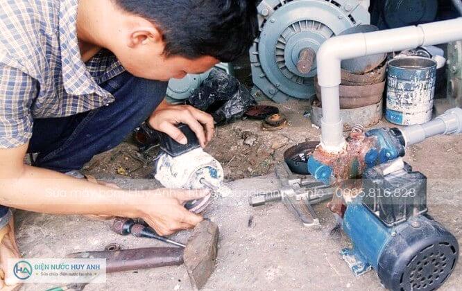 Quy trình làm việcSửa máy bơm nước tại Hoàn Kiếm
