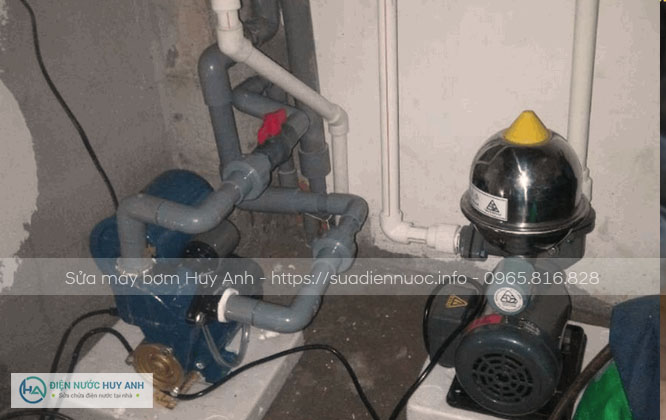Quy trình tiếp nhận và xử lý sự cố máy bơm tại nhà