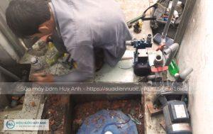 Sửa máy bơm tại Dương Nội