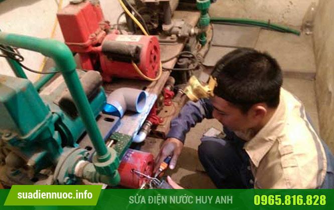 Sửa máy bơm tại Kiến Hưng