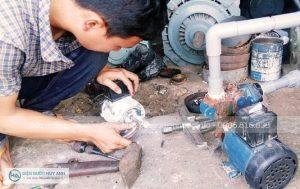Sửa máy bơm tại Phúc La