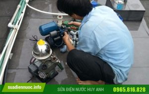 Sửa máy bơm tại Vạn Phúc