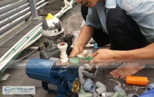 Sửa máy bơm tại Văn Quán