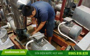 Sửa máy bơm tại Đức Giang