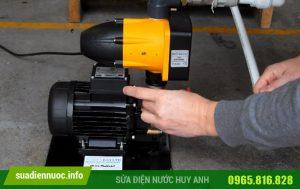 Sửa máy bơm tại Gia Thụy
