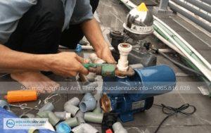 Sửa máy bơm tại Giang Biên