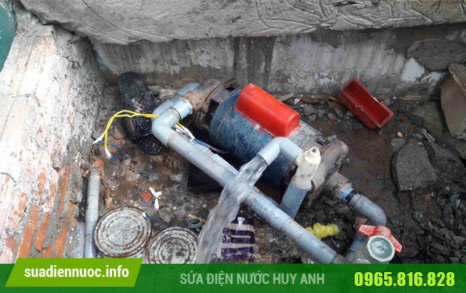 Sửa máy bơm tại Ngọc Thụy