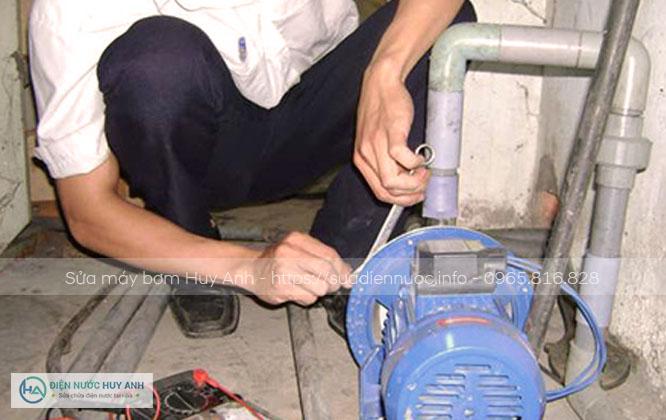 Sửa máy bơm tại Phúc Đồng