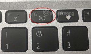 Phím bật/tắt nhanh Wifi trên bàn phím